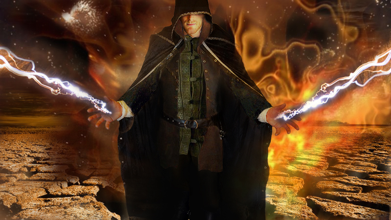 Shaz the war wizard- DS Johnson