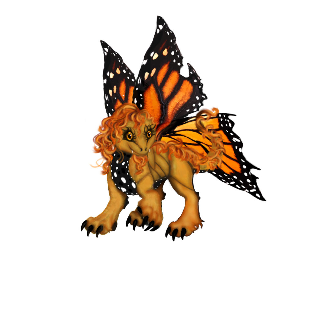 Virgo the  Shontie (butterfly dragon)